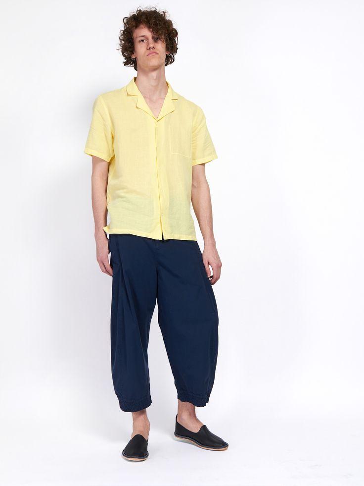 Pop Piano Shirt Lemon Yellow