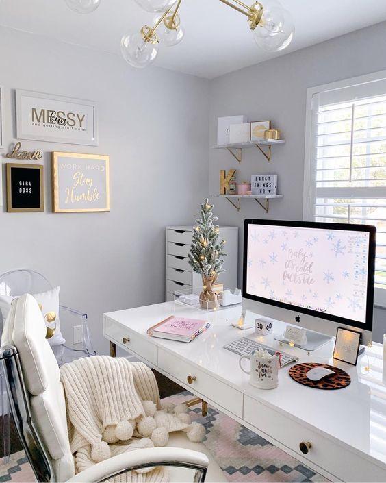 Wie genießen Sie das Studieren und Arbeiten zu Hause?   31 gemütliche Home Off…
