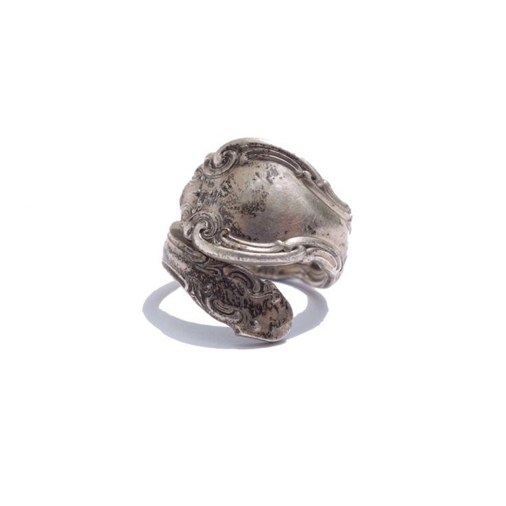 ビンテージ スプーンリング  antique ring | 代官山【ラムホール ベルーフ】原宿【beruf原宿】が公式に取り扱う通販サイト - RUMHOLE beruf - Online Store