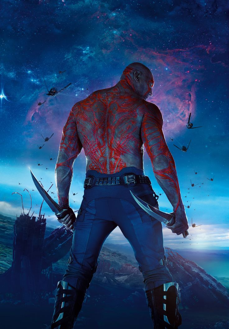Drax the Destroyer - Guardians of the Galaxy 2014 movie fan art