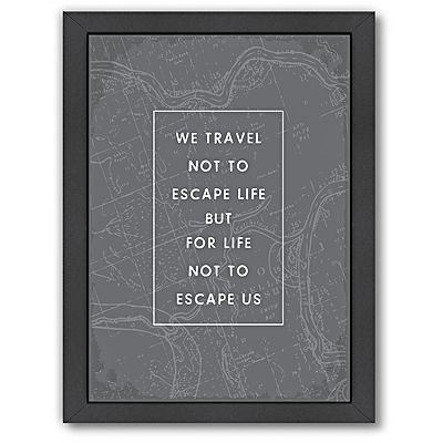 Travel Quote Print Art