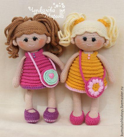 Вязание ручной работы. Ярмарка Мастеров - ручная работа. Купить Кукла Пампошка (мастер-класс). Handmade. Мастер-класс, для девочки