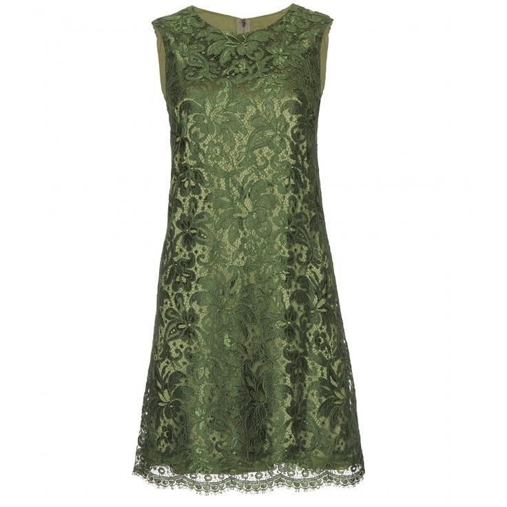 GASP!  Dolce & Gabbana - LACE OVERLAY DRESS - mytheresa.com