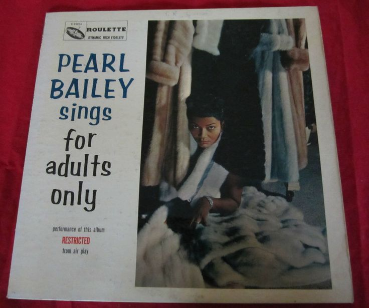 Pearl Bailey Sings For Adults Only 73