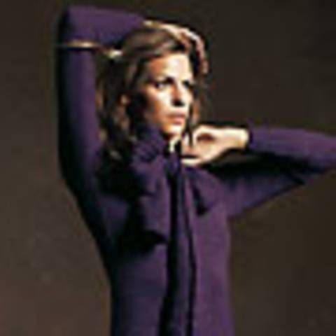 Strickanleitung für das schmale Kleid (Größe M) mit Schal