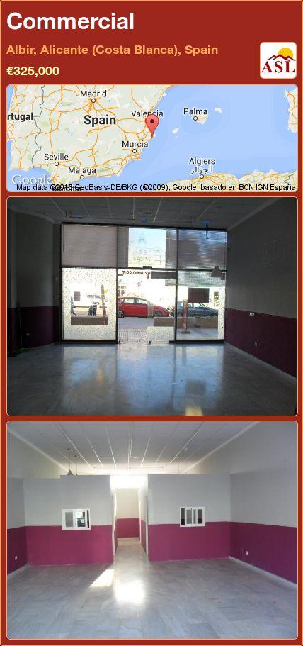 Commercial in Albir, Alicante (Costa Blanca), Spain ►€325,000 #PropertyForSaleInSpain