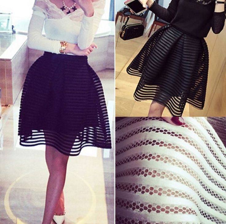 Krásná dámská děrovaná sukně – bílá nebo černá + POŠTA ZDARMA Na tento produkt se vztahuje nejen zajímavá sleva, ale také poštovné zdarma! Využij této výhodné nabídky a ušetři na poštovném, stejně jako to udělalo …