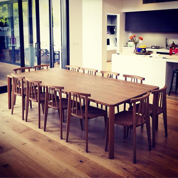 Delivered this spectacular 12 seater Sika dining table and chairs to its new home yesterday. Tide Design