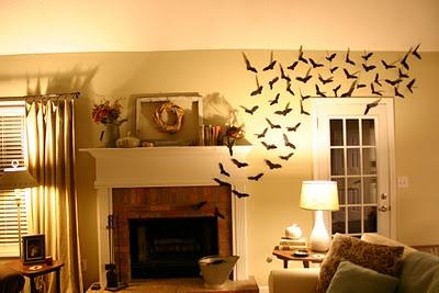 Bats in the belfry...er, uh, fireplace.Bats, Fireplaces, Belfry, Saint