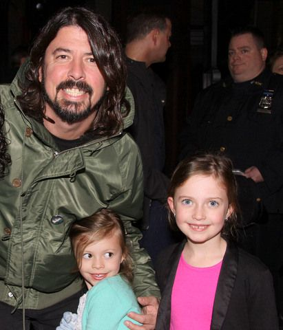 Dave Grohl and wife expecting third child. A third girl!