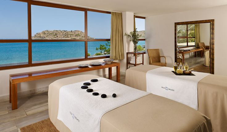 Spend the day side-by-side your loved one enjoying a rejuvenating Couple's Spa Pampering at the Elounda Spa & Thalassotherapy: the Signature couple's spa ritual starts with a full-body exfoliation with aromatic scrub in our couple's suite, followed by a soothing oriental massage with essential rose and vanilla oils. The ritual concludes with a rejuvenating face care treatment, with rose and lavender flowers. Don't miss it!