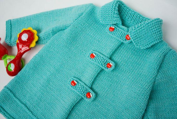 """Детский жакет """"Бирюза"""" / Baby jaket Turquoise . Обсуждение на LiveInternet - Российский Сервис Онлайн-Дневников"""