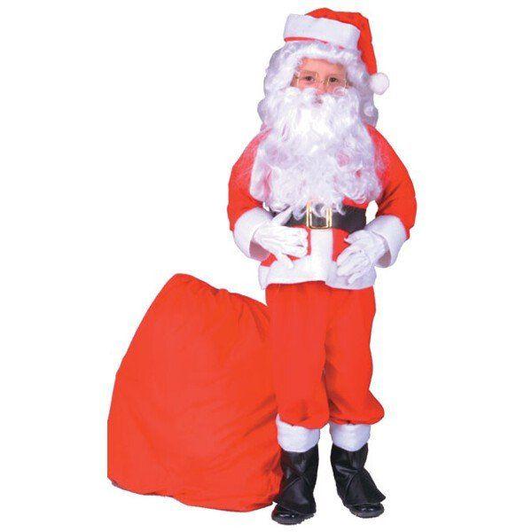 Child Santa Claus Costume Suit