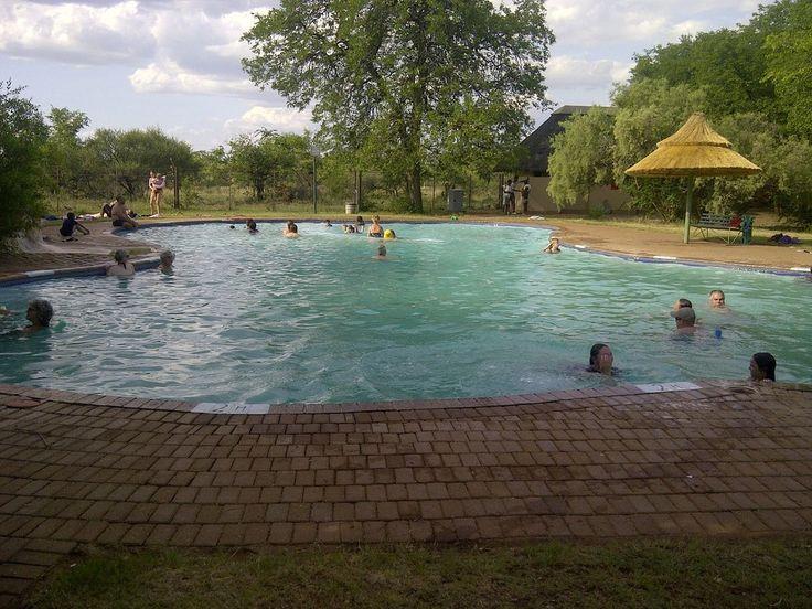 Shingwedzi Rest Camp, Kruger National Park.  This looks like heaven.