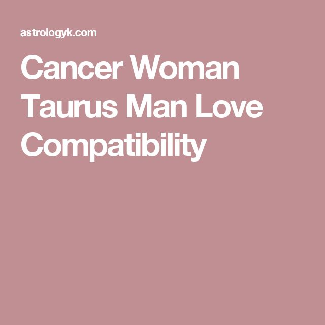 Cancer Man and Cancer Woman