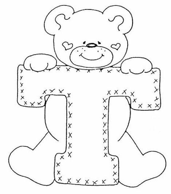abecedario de ositos