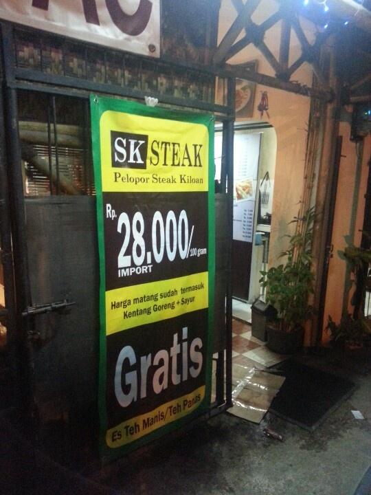 Steak kiloan