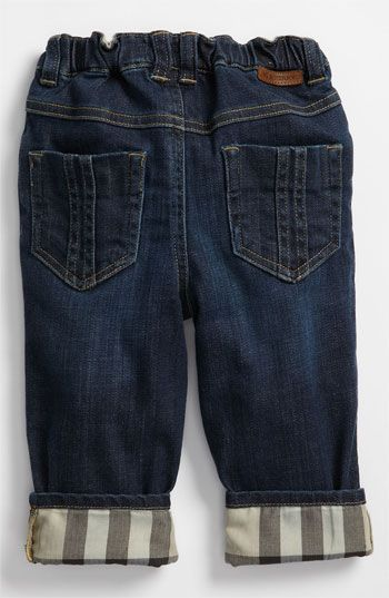 WANT!!!  Burberry Straight Leg Jeans (Toddler) available at #Nordstrom