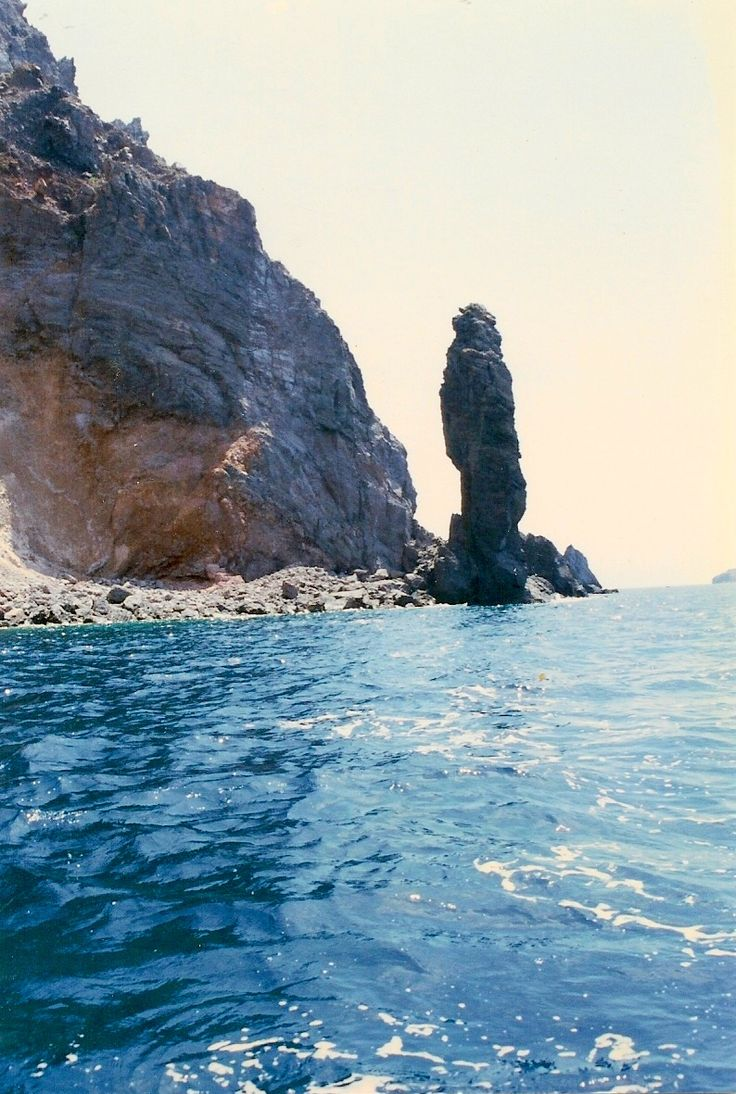 Rock Formations off the coast of Lipari - Aeolian Islands - Italy
