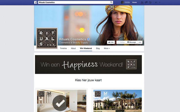 Rituals Win Weekend - Facebook App