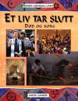 """""""Et liv tar slutt - død og sorg"""" av Anita Ganeri - 'A book about death or grief' book 4 of 4 - Finished January 2nd"""
