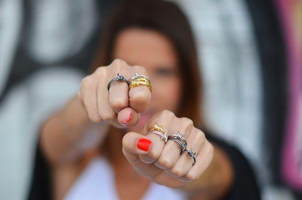Rings, rings, rings! #omnia #omniagirls #wire #rings #jewels