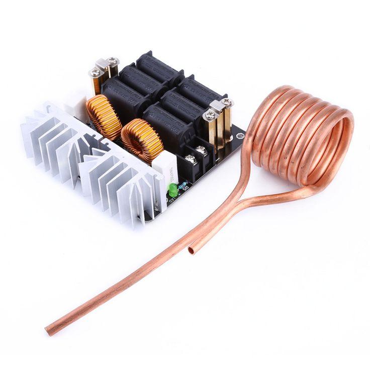 1000W ZVS Low Voltage Induction Heating Board Module/Tesla Voil + coil 12v-48V