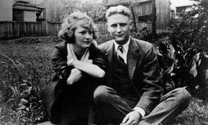 "Zelda Fitgerald and F.Scott Fitzgerald. Their marriage was flawed but deeply loving. Scott's awestruck comment on meeting Zelda: ""I love her, and that's the beginning and end of everything."""