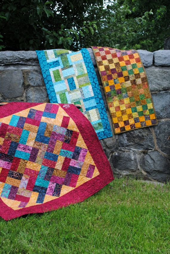 PDF table runner Pattern....three different projects by sweetjane, $9.00