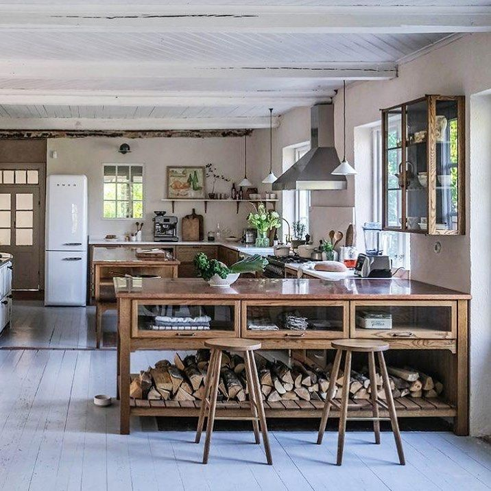 My Scandinavian Home On Instagram Work From Here Today I Ve Got My Eye On A Stool In The Swedish Kitc In 2020 Swedish Kitchen Scandinavian Home My Scandinavian Home