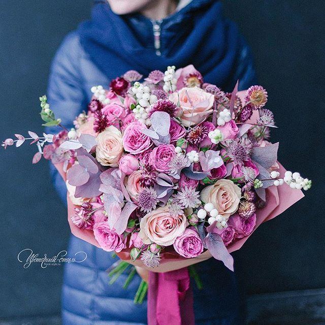 bouquets, Подарочный букет @art_petrov @floral_style #цветочныйстильнск #Новосибирск