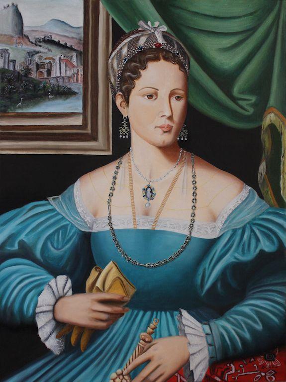 Portrait of a Lady (Bildnis einer Dame)