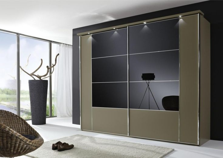 white-modern-bedroom-furniture-with-olive-wall-mounted-rectangle-center-black-glass-wooden-wardrobe-and-small-round-wardrobe-lights-and-also-freestanding-rattan-round-chair-plus-white-rectangle