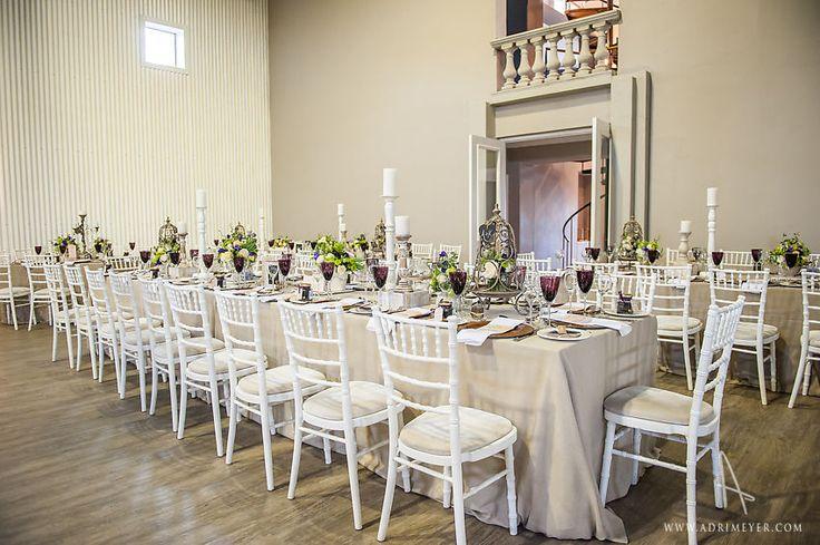 White tiffany chairs
