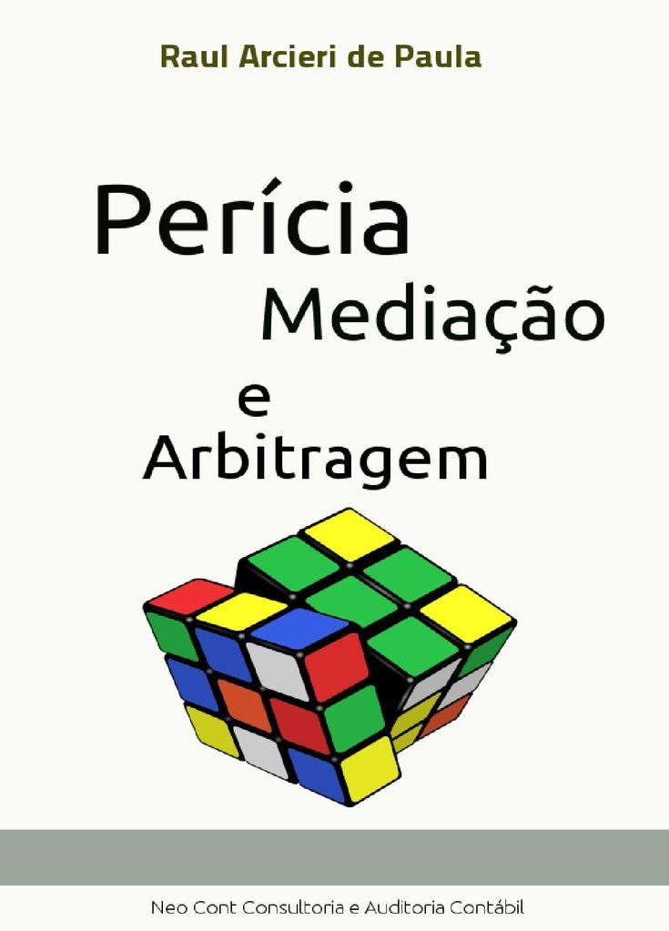 Pericia, mediacao e arbitragem (1)