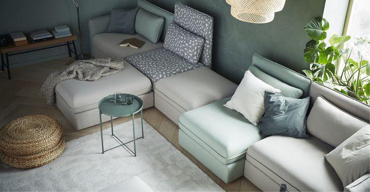 Anteprima catalogo IKEA 2017: i divani componibili VALLENTUNA | Una Casa Così