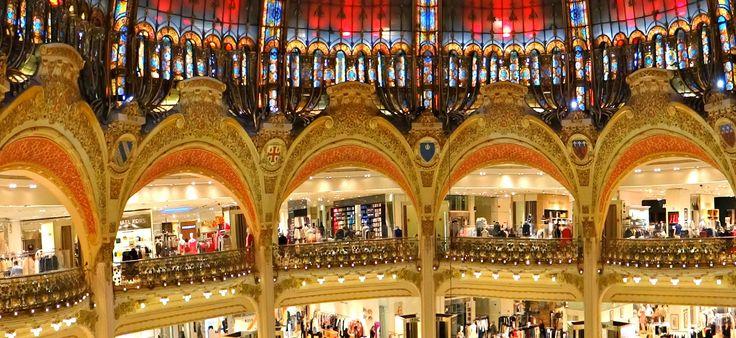 Párizsi séta: A Lafayette áruház