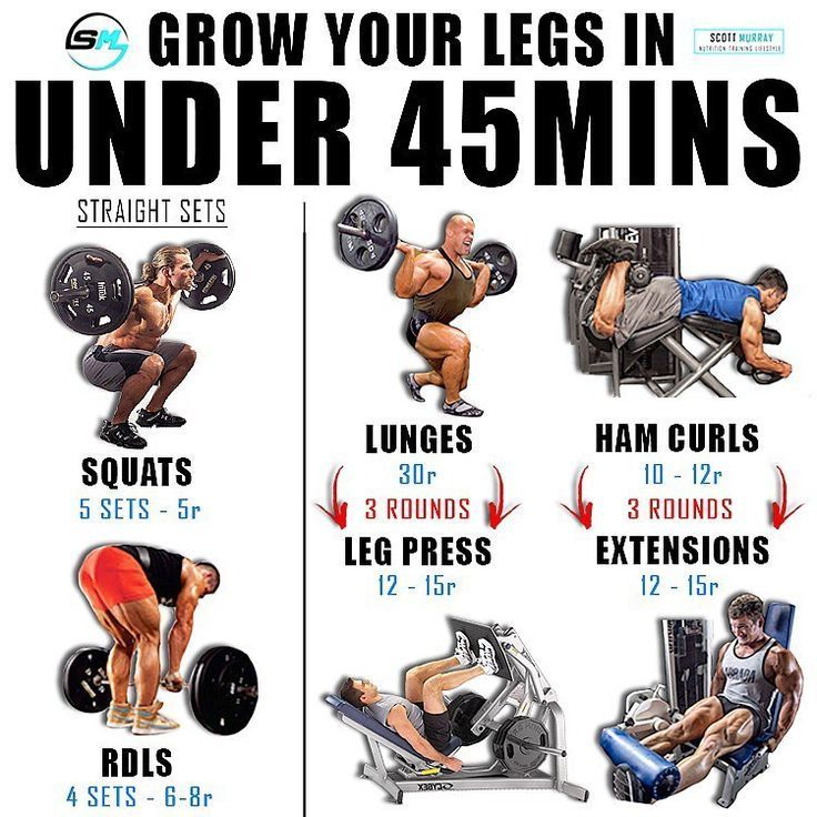 Gain Size And Strength For Monster Legs In 4 Weeks 1