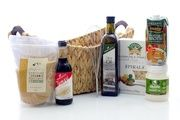 Culinary Delight Gift Basket - beautiful natural and organic products. Perfect gift for any occasion