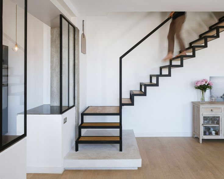 65 best Escaliers images on Pinterest Ladders, Staircases and Stairs - prix renovation electricite maison
