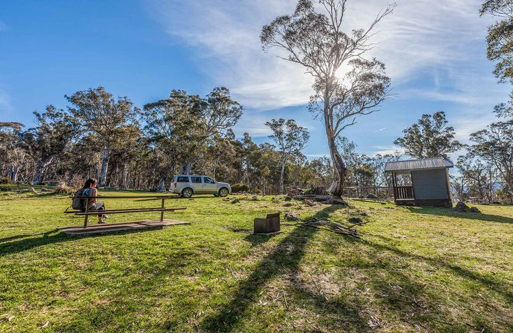 Would have to walk/drive to water but looks nice.   Cooleman Mountain campground, Kosciuszko National Park. Photo: Murray Vanderveer