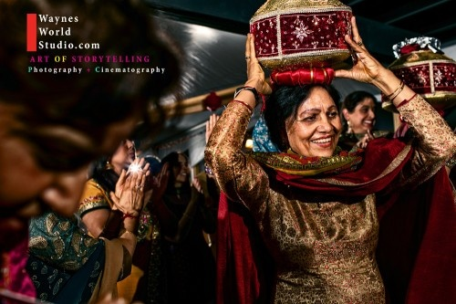 Indian Wedding Maiya Ceremony Punjabi Culture in Vancouver