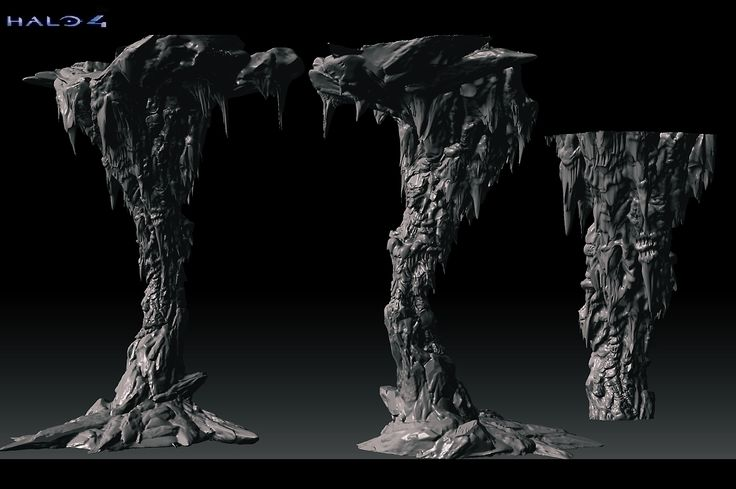 Some Zbrush and Max Work - Page 30. This is the type of pillar I am going to try and create.