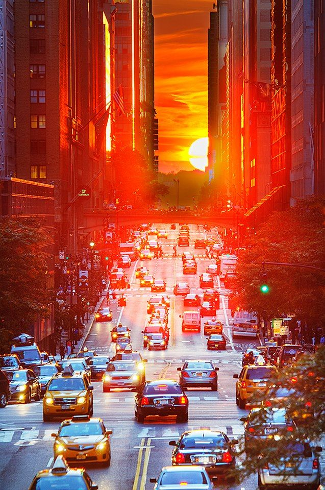 Magnificent Sunset NYC