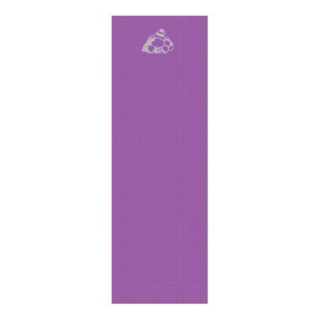 Laughing Buddha Yoga Mat Plum/Silver - click to get yours right now!