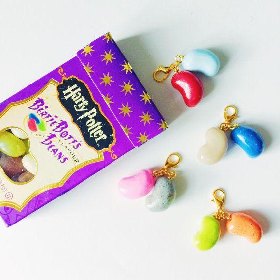 Harry Potter Bertie Bott's Every Flavor Beans Charm   Killer Sprinkles