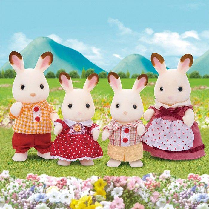 Familia Conejos - Sylvanian Families