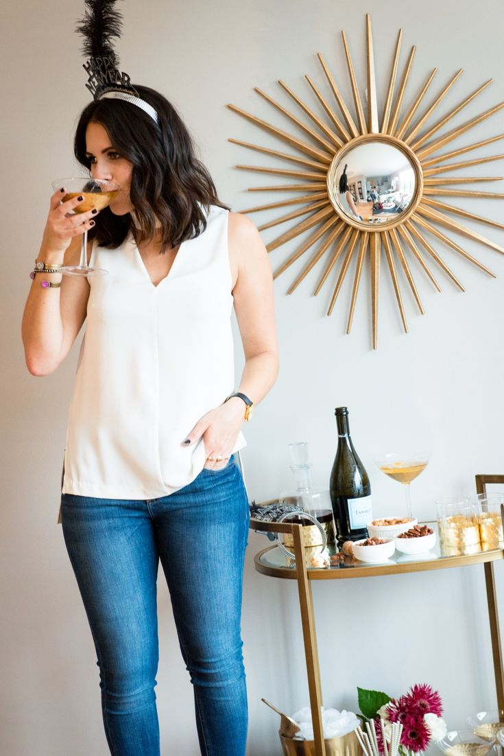 New Years Eve Party Ideas, at home new years eve party - @My Style Vita | Fashion & Lifestyle Blog