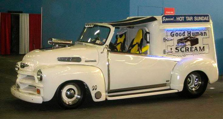 "Hot Rod Ice Cream Truck-The  song it's playing is ""Ice Cream Man"" VanHalan style!!!!"