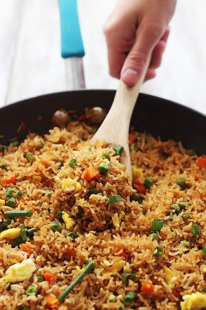 We need good fried rice at home once in a while that's not takeout! May try this.